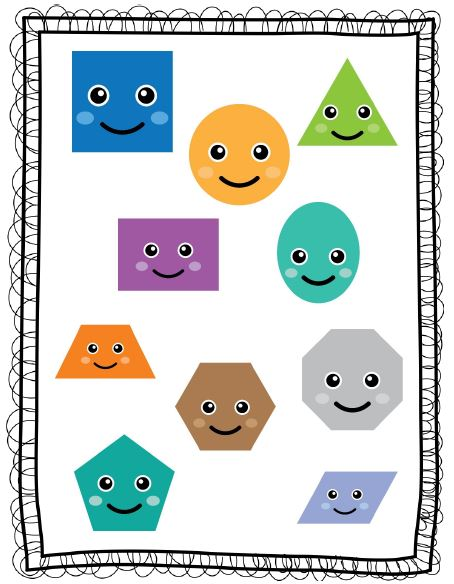 Can you name these shapes?   First Grade Weblog